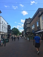 Where people go for shopping in Stafford.