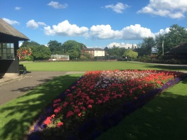 Magnificent view at Victoria Park!