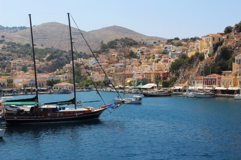 Day trip in Simi island.