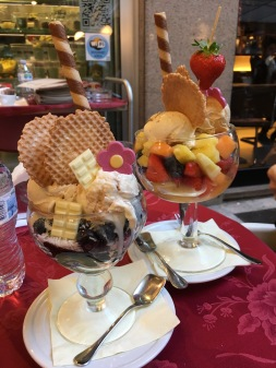 Our gelatos!