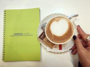 An Italian cappuccino!