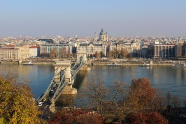 What we saw from Buda Castle.