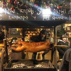 At the Christmas Markets!