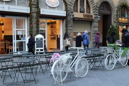 Gelaterias everywhere in Firenze