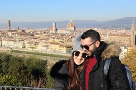 At Piazzale Michelangelo