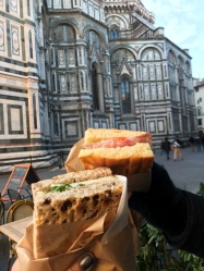 The best sandwiches in Firenze <3