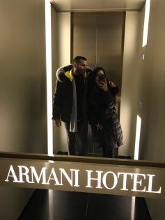Armani Hotel <3