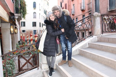 Love is in the air in Venice <3
