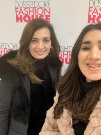 Selfie at Fashion House with mama