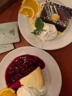 Desserts at Louisiana